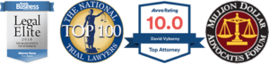 mazzeo law personal injury lawyer badges